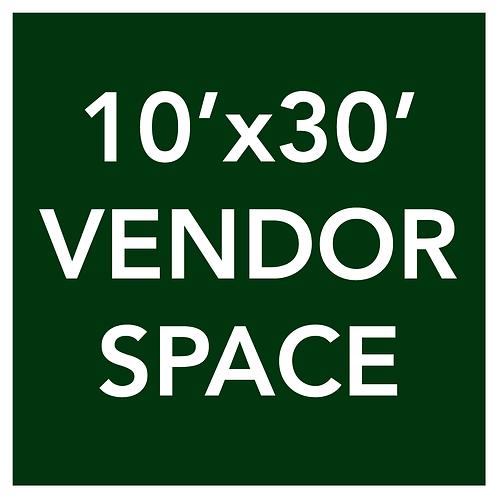 10'x30' Vendor Space