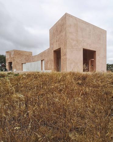 Casa em Grândola I Ricardo Bak Gordon (construção)