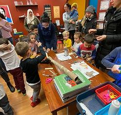 Urban STEAM Lab Rube Goldberg Machines P