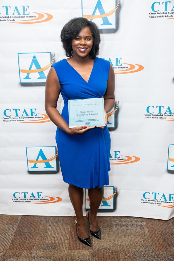 E4S Acknowledged as CTAE Partner with Atlanta Public Schools