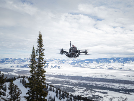 Press: First-of-a-kind drone developed for snowboarding tour