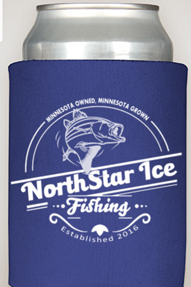 NorthStar Ice Fishing - Minnesota Custom Castles Can Koozie