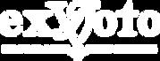 Ex Voto Logo Only 4 x 1.75 White.png