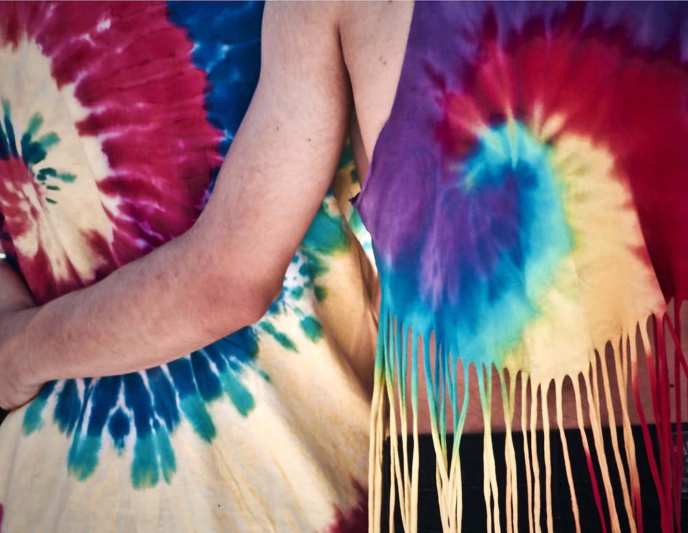 creatieve activiteiten met kinderen - batikken met kinderen - tye dye met kinderen