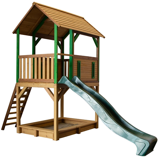speeltoestel speelhuisje speeltoren glij