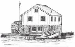 Brockway sketch by Anne Peterson