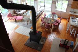 Living Room taken from the Loft