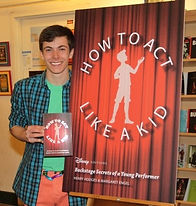 Book launch of How to Act Like a Kid
