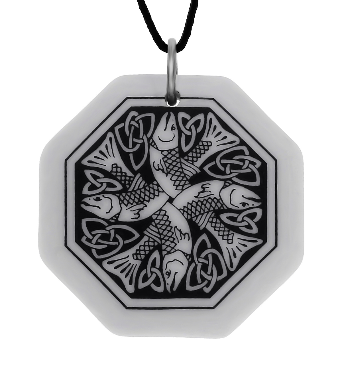 Celtic Fish Pendant