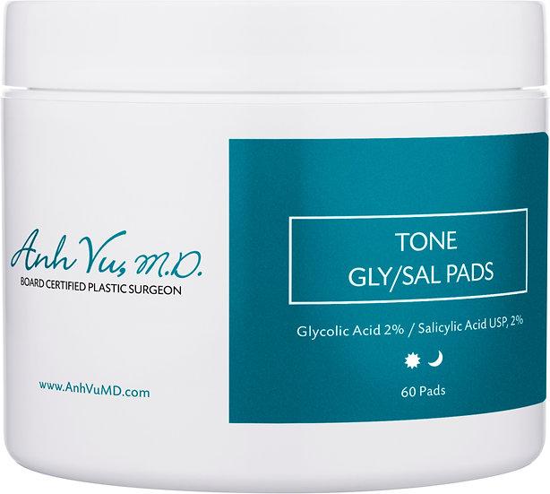 Tone Pads with 2% Glycolic and 2% Salicylic