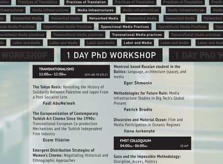 Methods in Progress Workshop
