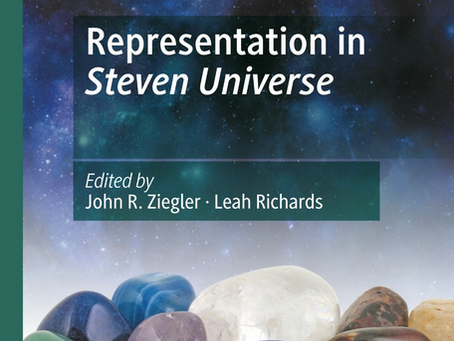 "GEM Members featured on New Book: ""Representation in Steven Universe"""