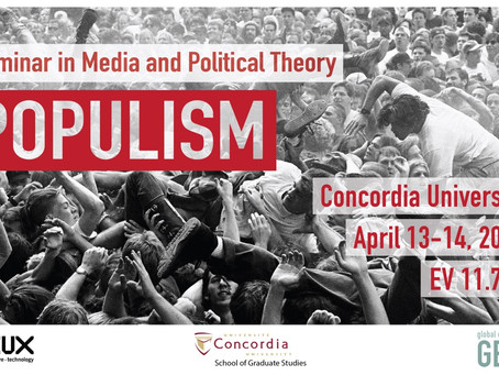 Seminar in Media and Political Theory: POPULISM