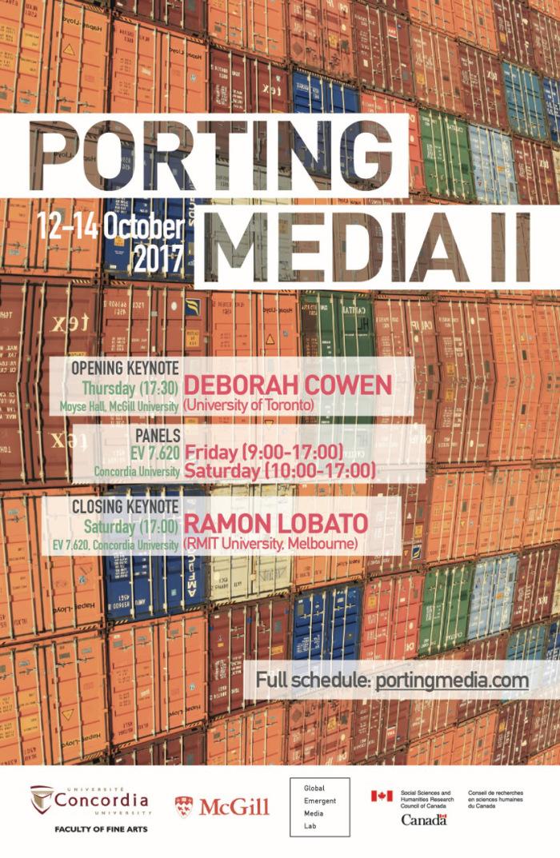 Porting Media Poster