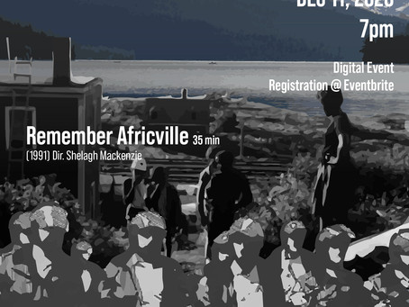 Cinema in the Midst of Struggle: Remember Africville and Incident at Restigouche w/ Delvina Bernard