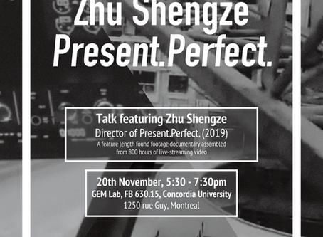 Artist Talk featuring Zhu Shengze - dir. Present.Perfect (2019)