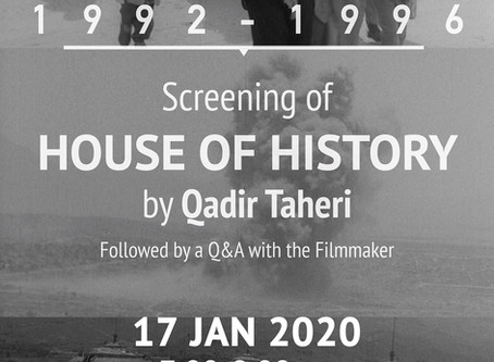 Filming the Siege of Kabul: Images from the Civil War 1992-1996 – Cinema in the Midst of Struggle