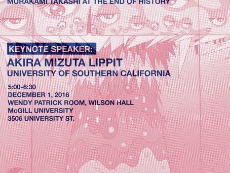 Keynote talk: Akira Mizuta Lippit
