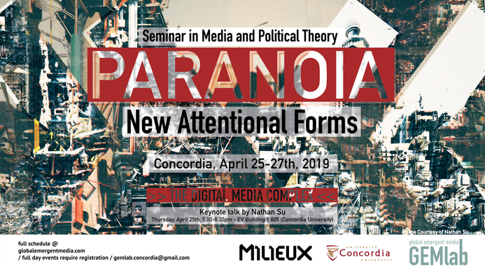 SMPT - Paranoia - New Attentional Forms