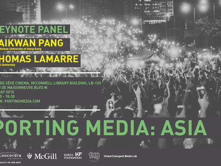Porting Media: Asia (May 15-17)