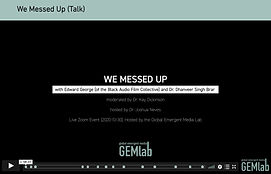 """We Messed Up"" now available to stream"