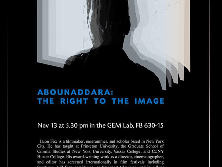 Abounaddara: The Right to the Image - A talk with Jason Fox