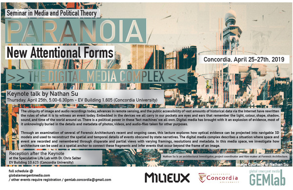 Seminar in Media and Political Theory Pa