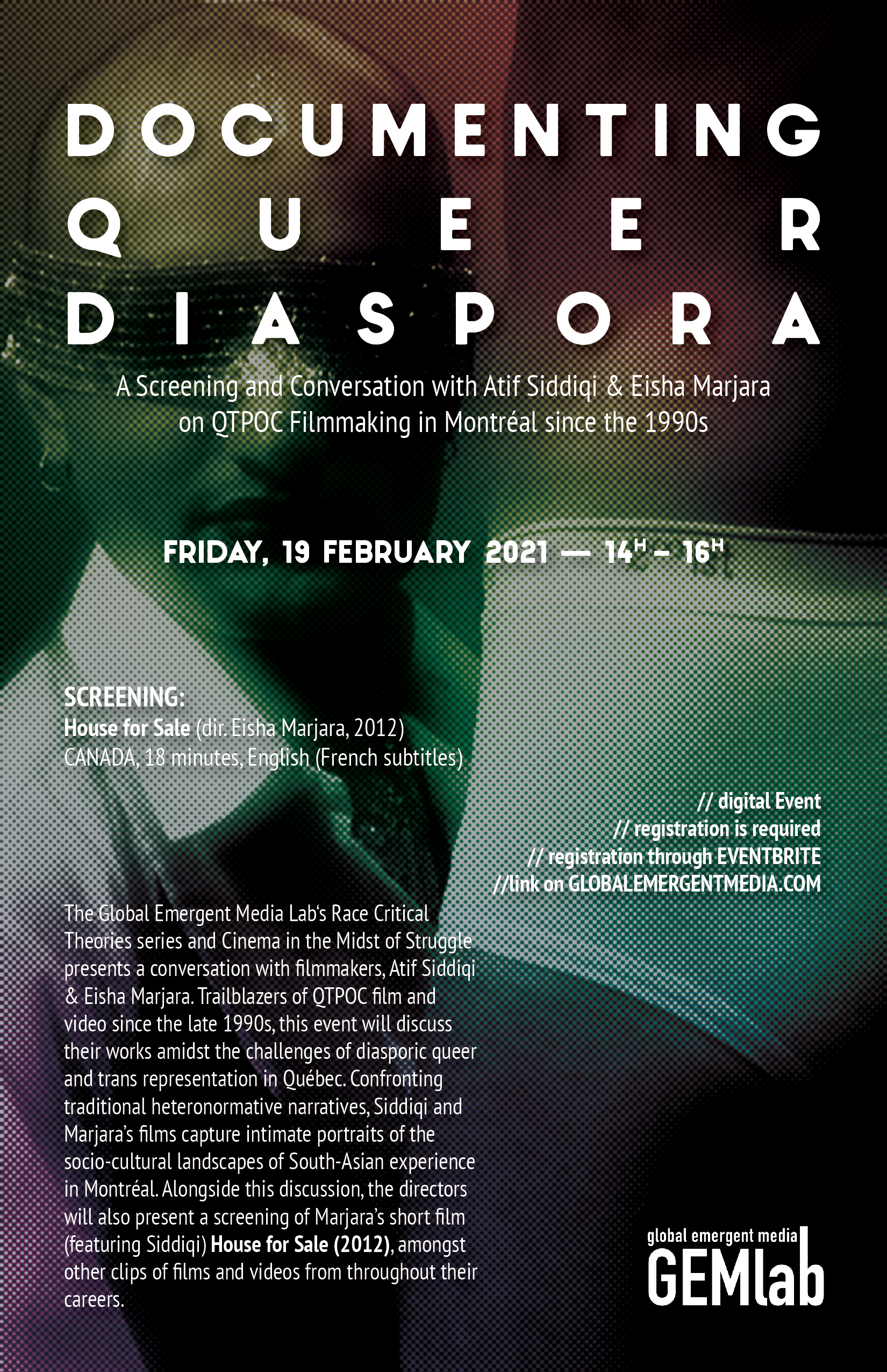 Documenting Queer Diaspora Poster - V2 -