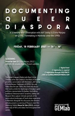 Documenting Queer Diaspora Poster - V2 -