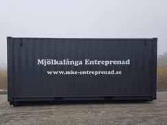 Fordonsdekor - container