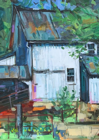 White Barn (private collection)