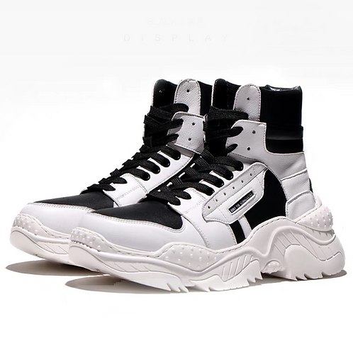 IRREGULAR TOOTH SOLE STITCHING SNEAKERS