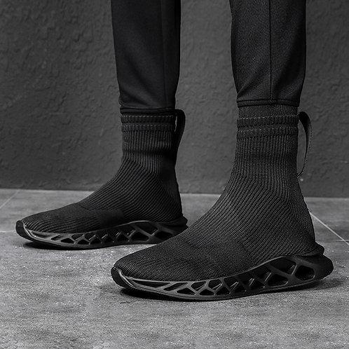 CURVE MESHING SOLE SOCK SNEAKERS