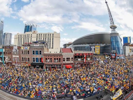 """""""The Southerners of the Ice"""": The Nashville Predators History, The Music City It's A Hockey City Too"""