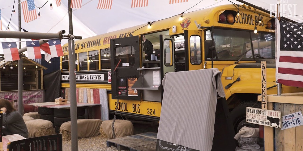 Old School BBQ Bus w/ James Stephens