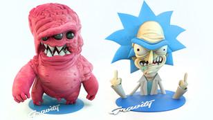 3D Character Sculpts