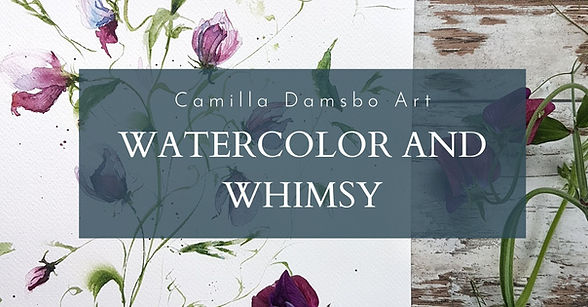 watercolor and whimsy by camilla damsbo