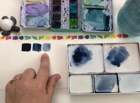 5 Skillshare Classes on basic Watercolor