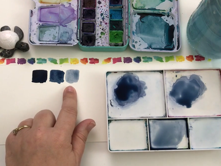 5 Skillshare Classes on basic Watercolor