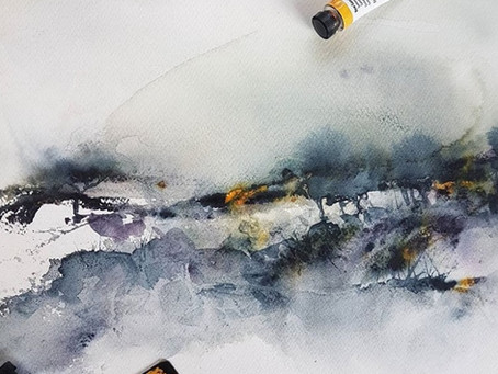 Draw your viewer into your Watercolor Landscape