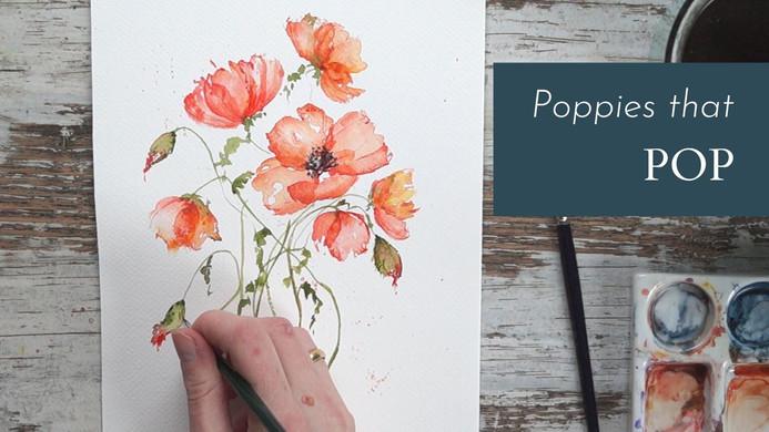 Poppies that Pop