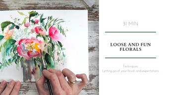 Loose and fun florals