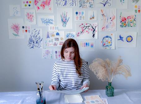 Irina Trzaskos - We are all beginners Artist Spot