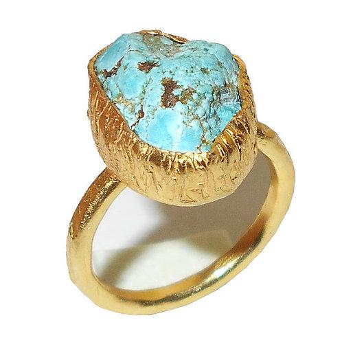 Tibetan Tuurquoise Ring