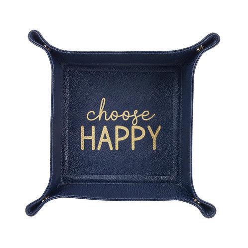 Choose Happy Trinket Tray