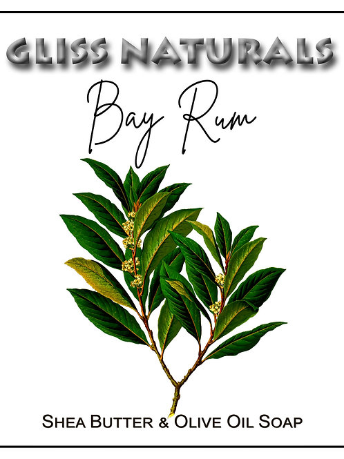 Handcrafted Bay Rum Soap