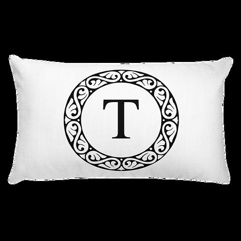 Custom Initial Throw Pillow