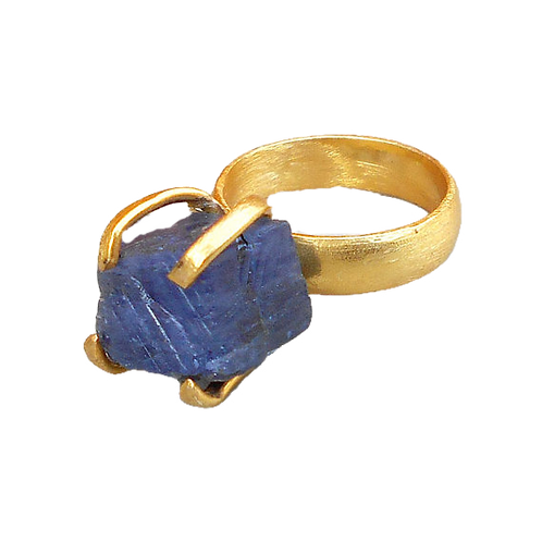 Tanzanite Gold Vermeil Ring