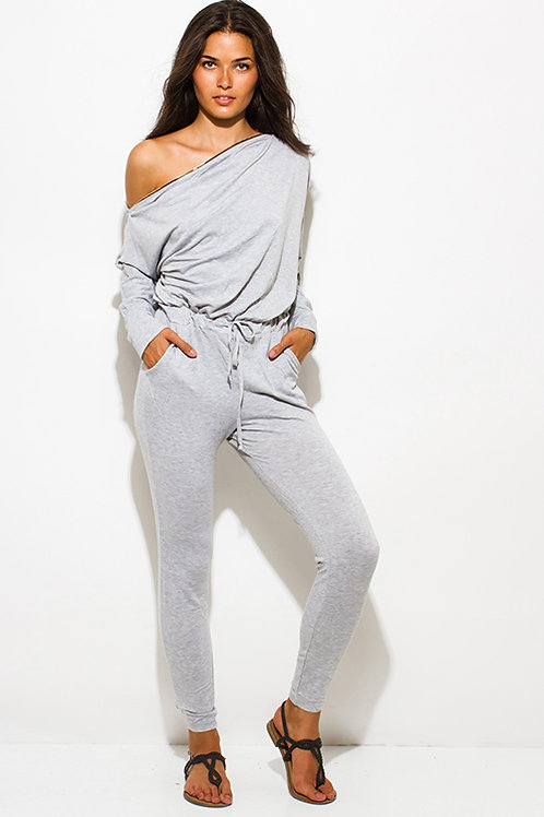 Gray Jumpsuit