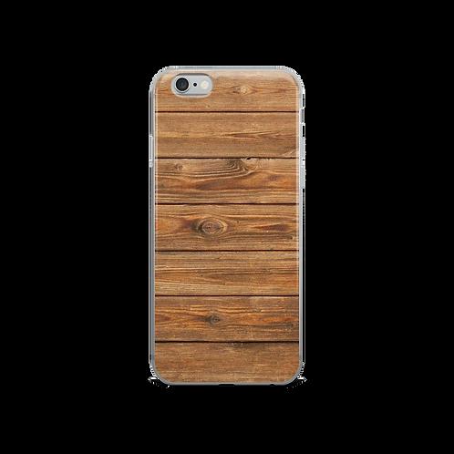 Wood Print IPhone Case